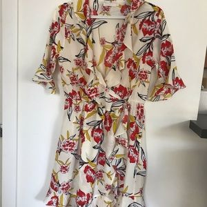Floral Ruffle dress - Large
